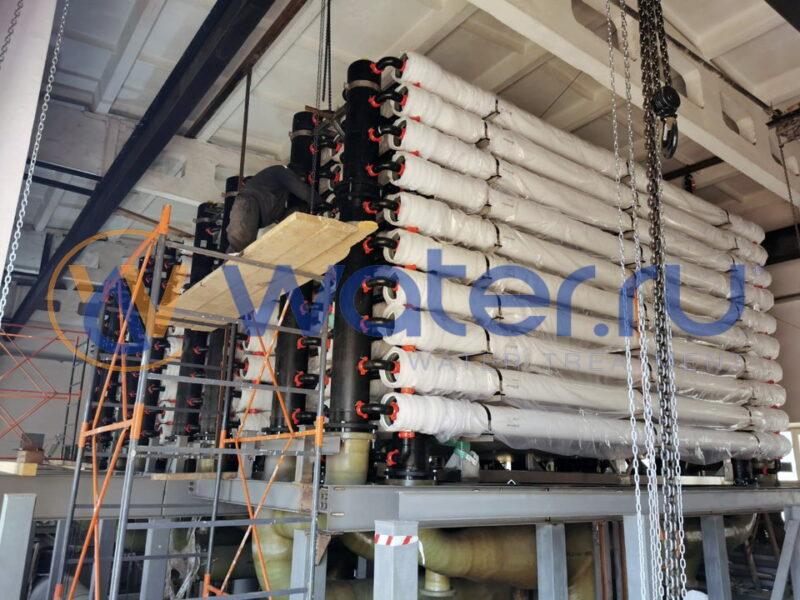 Система водоподготовки для водоканала г. Стерлитамак